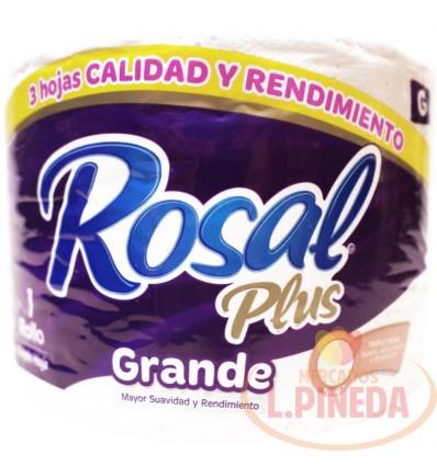 Papel Higiénico Rosal Plus Grande 2 En 1 G