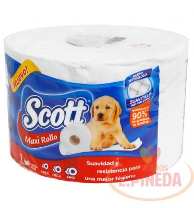 Papel Higienico Scott Maxi Rollo X 1