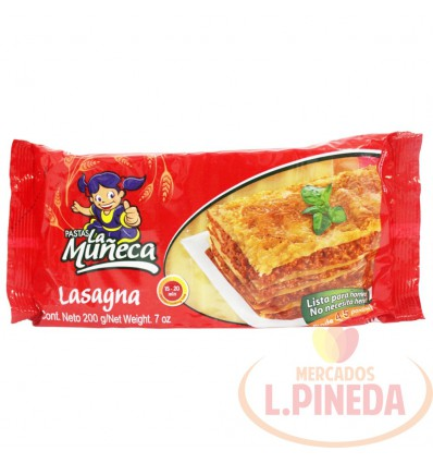 Lasagna X 200 G La Muñeca