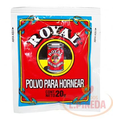 Polvo Para Hornear X 20 G Royal