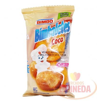 Ponque Bimbo X 40 G Cocos