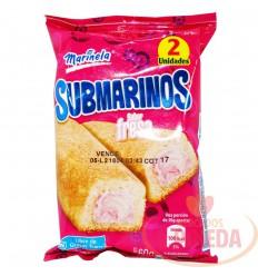 Ponque Submarinos Bimbo X 60 G Fresa