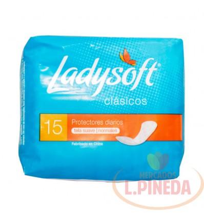 Protectores Ladysoft X 15 Un Clasicos