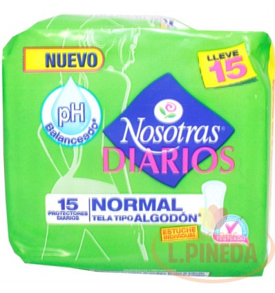 Protectores Nosotras Normal X 15