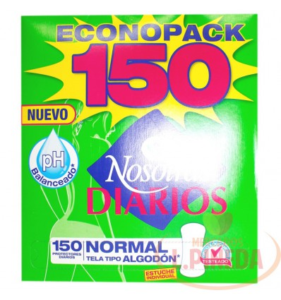 Protectores Nosotras Normal X 150