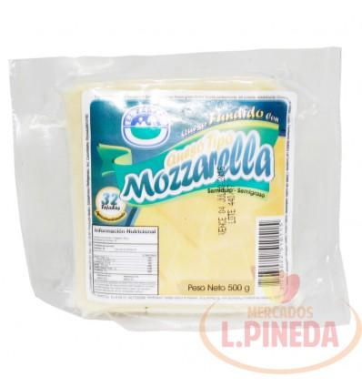 Queso Fundido Mozarela X 500 G El Zarzal