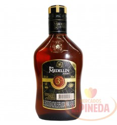 Ron Medellin Anejo X 375 ML Media