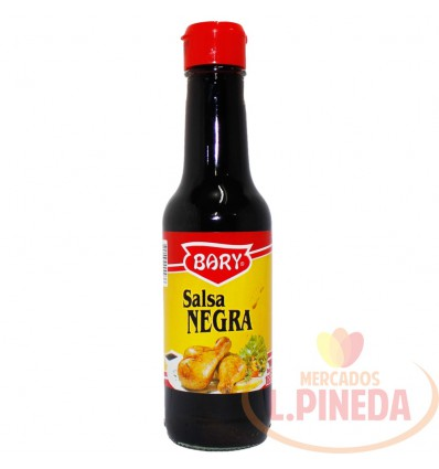 Salsa Bary Negra X 165cc