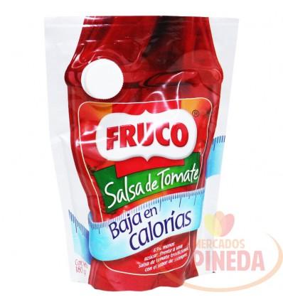 Salsa De Tomate X 180 G Fruco Baja En Calorias