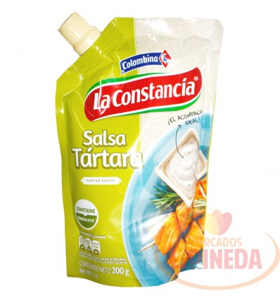 Salsa Tartara X 200 G La Constancia