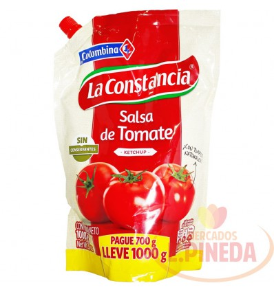 Salsa Tomate 700 G X 1000 G Cosntancia