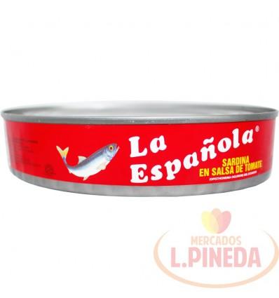 Sardina La Espanola X 425 G Salsa Tomate