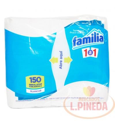 Servilletas Familia Partidas X 150 1a1