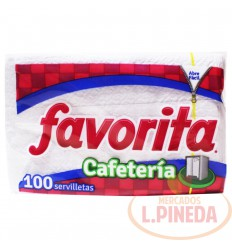 Servilletas Favorita Caféteria Dobladas