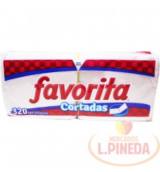 Servilletas Favorita X 320