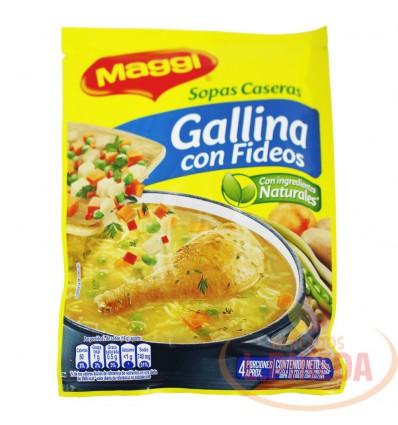 Sopas Maggi X 65 G Gallina Con Fideos