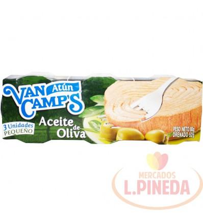 Atun Van Camps 80 G X 3 Aceite De Oliva