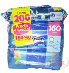 Toallas Humumedos Pequeñin X 160 + 40 Acolchamax
