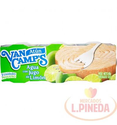 Atun Van Camps 80 G X 3 Limon