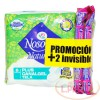Toallas Nosotras Plus Canalgel X 6 + 2 Invicibles