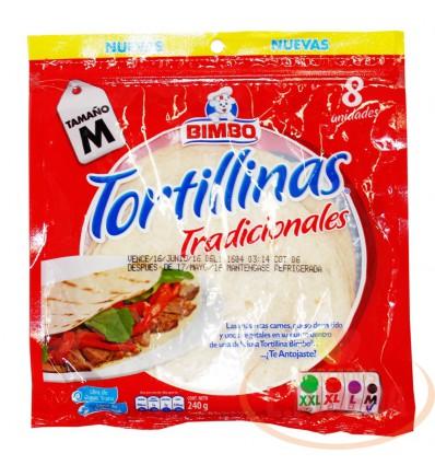 Tortillas Bimbo X 240 G 8 Unds