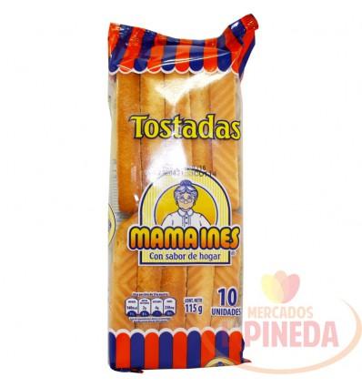Tostada Mama Ines X 120 G