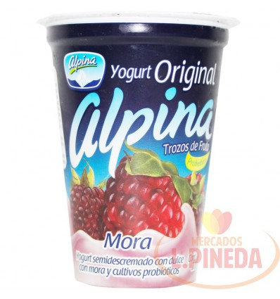 Yogurt Alpina Original X 200 G Mora