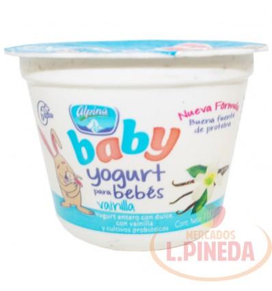 Yogurt Baby Alpina X 113 G Vainilla