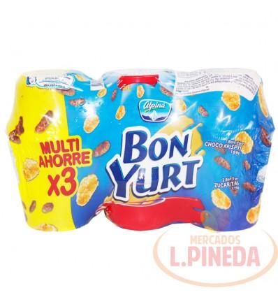 Yogurt Con Cereal Bon Yurt 3 X 170 G