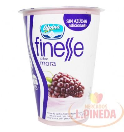 Yogurt Finesse Alpina X 180 G Mora