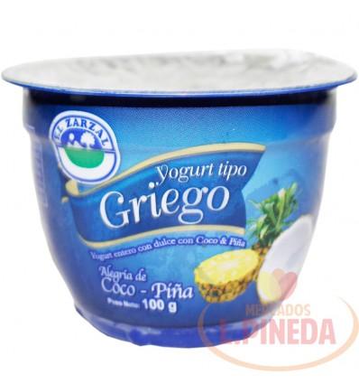 Yogurt Griego Coco Pina X 100 G