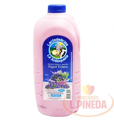 Yogurt La Antioquena X 2000 ML Entero
