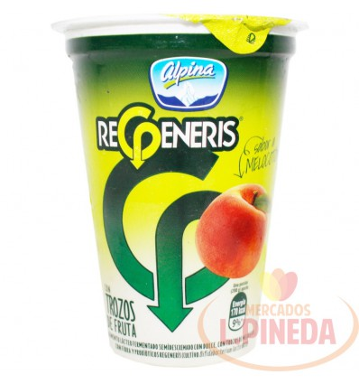 Yogurt Regeneris Alpina X 200 Melocoton
