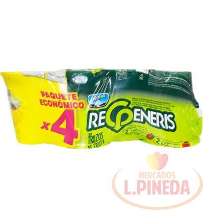 Yogurt Regeneris Alpina X 4 Unds X 150 G
