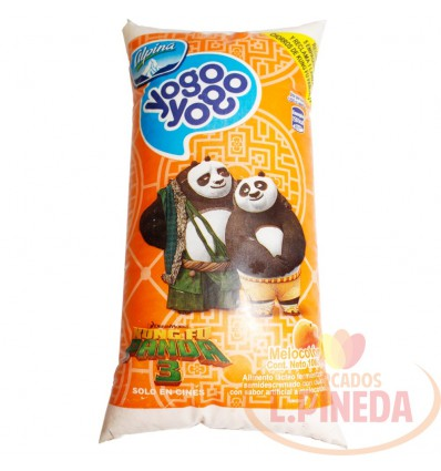 Yogurt Yogo Yogo X 1000 G Melocoton Bolsa