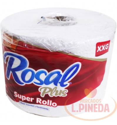 Papel Higiénico Rosal Plus Super Rollo Xxg X 1