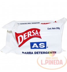 Jabon Barra Dersa As X 250 G