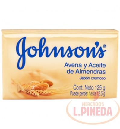 Jabon Johnson's X 125 G Aceite De Avena Y Almendras