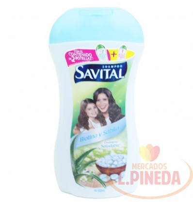 Shampoo Savital Biotinay Sabila X 550 ML