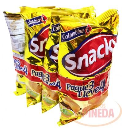 Snacky Saladitos X 40 G Paq X 4 Unds