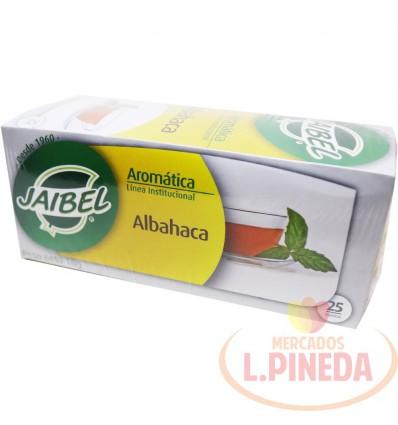 Aromaticas Jaibel Albahaca X 25 G
