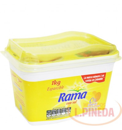 Margarina Rama X 1000 G