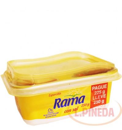 Margarina Rama X 250 G Con Sal