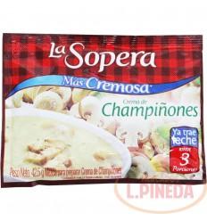 Crema La Sopera X 42,5 G Champinones