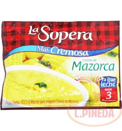 Crema La Sopera X 43,5 G Mazorca Tierna