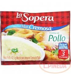 Crema La Sopera X 42,5 G Pollo