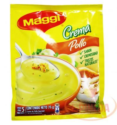 Crema Maggi X 76 G Pollo