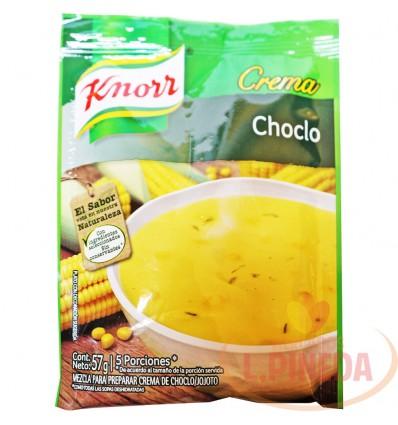 Crema Knorr X 57 G Choclo X 5 Porciones