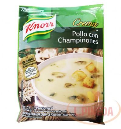 Crema Knorr X 62 G Pollo Y Champinones