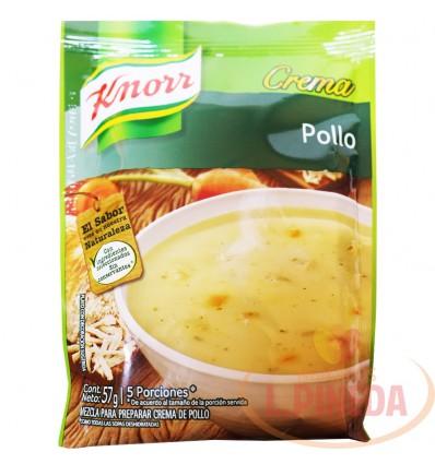 Crema Knorr X 57 G Pollo X 5 Porciones